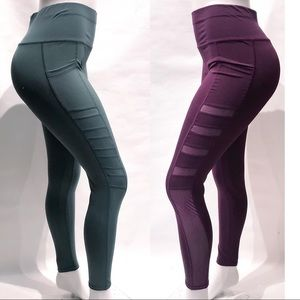 Pants - Black high waist  phone Pocket Workout Leggings